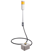 Menics ATEPR-10-Y 1 Tier Tower Light, Yellow