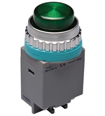 Kacon B30-17G-110VAC 30 mm Pilot Lamp, Green, 110V