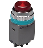 Kacon B30-17R-24VDC 30 mm Pilot Lamp, Red, 24V