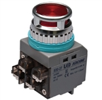 Kacon B30-27R-24VDC 30 mm Push Button, Red, 24V