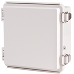 Boxco BC-AGP-151509 Hinged Lid Enclosure, Solid Gray, ABS Plastic