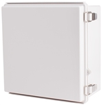 Boxco BC-AGP-303015 Hinged Lid Enclosure, Solid Gray, ABS Plastic