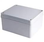 Boxco BC-AGS-141709 Screw Cover Enclosure, Solid Gray, ABS Plastic
