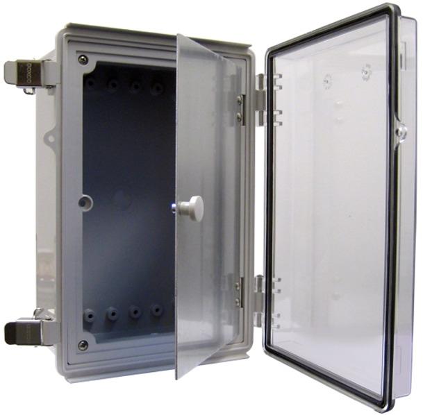 Boxco BC-ATF-253518 Dual Door Enclosure 250x350x180  sc 1 st  Products For Automation & Boxco BC-ATF-253518 Dual Door Enclosure 250x350x180 ABS pezcame.com