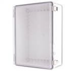 Boxco BC-ATP-304015 Hinged Lid Enclosure, Clear Cover, ABS Plastic