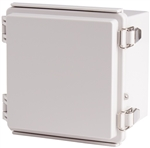 Boxco BC-CGP-151512 Hinged Lid Enclosure, Solid Gray, Polycarbonate