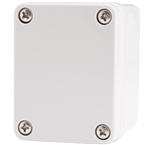 Boxco BC-CGS-050605 Screw Cover Enclosure, Solid Gray, Polycarbonate