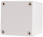 Boxco BC-CGS-101010 Screw Cover Enclosure, Solid Gray, Polycarbonate