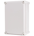 Boxco BC-CGS-192813 Screw Cover Enclosure, Solid Gray, Polycarbonate