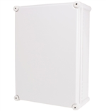 Boxco BC-CGS-283813 Screw Cover Enclosure, Solid Gray, Polycarbonate