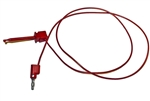 Mueller BU-1120-A-36-2 Mini Plunger to Banana Plug Test Lead