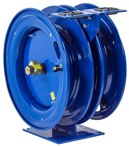 High Pressure Dual Hose Reel
