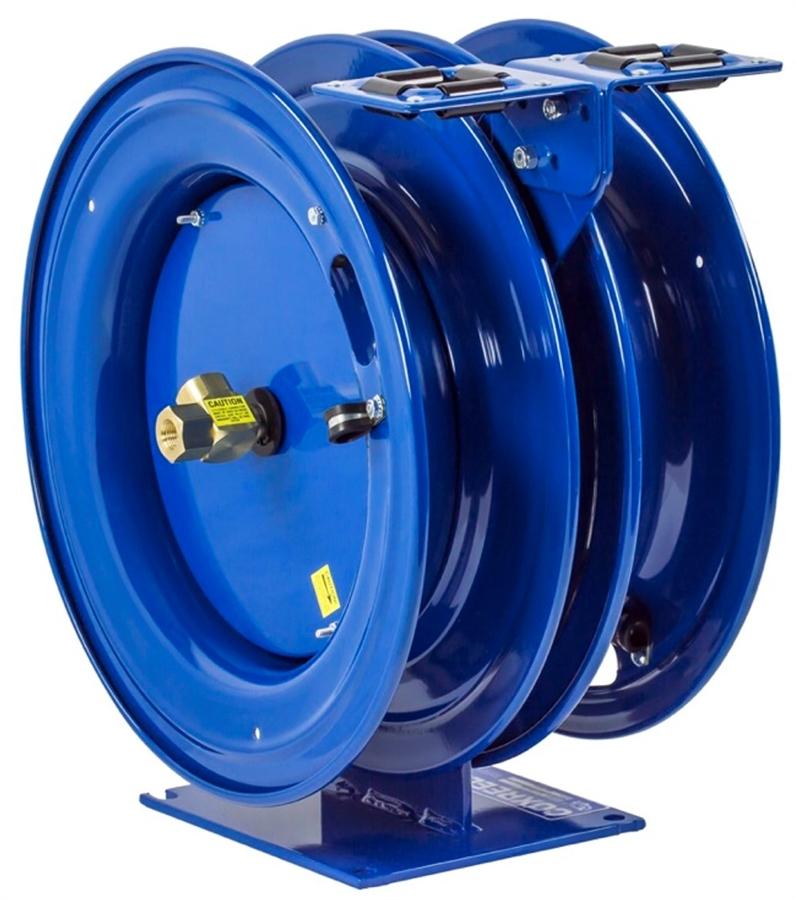 300 PSI 35/' hose 1//2 I.D. Coxreels EN-N-435 Spring Rewind Enclosed Hose Reel for air//water 35 hose