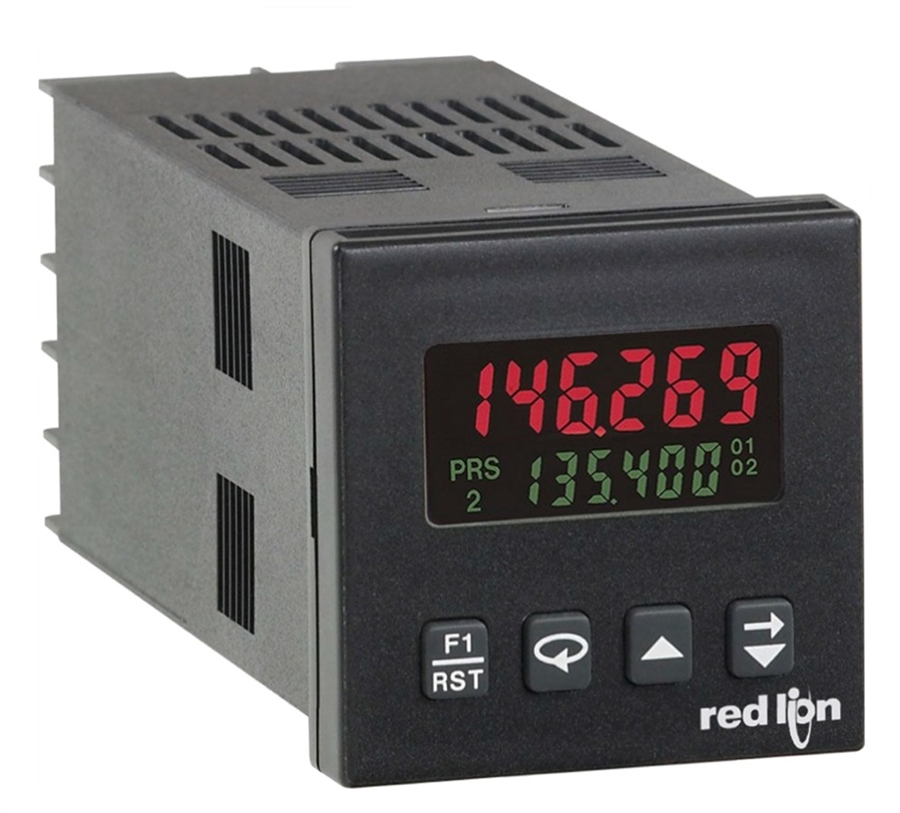 Red Lion C48CB108 Panel Meter Batch Counter AC RS485