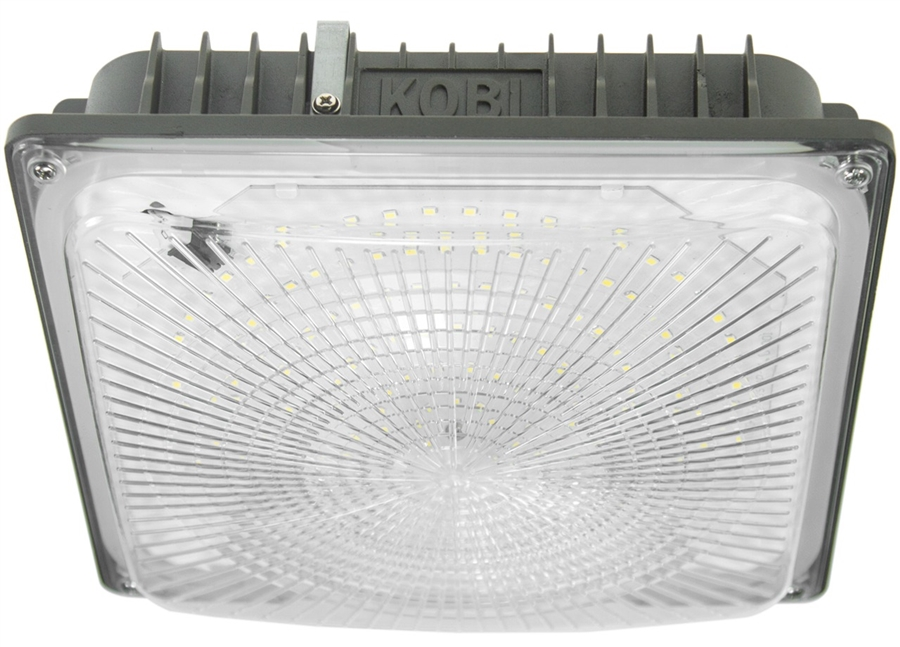 Kobi Electric K8N7 45W Canopy LED Light Fixture 5000K Bronze  sc 1 st  Products For Automation & Kobi Electric K8N7 45W Canopy Light Fixture 5000K Bronze