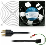 CAB802 120 mm 230V Cooling Fan Kit