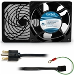 CAB803 120 mm 230V Cooling Fan Kit