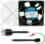 CAB804 120 mm 230V Cooling Fan Kit