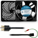 CAB805 120 mm 230V Cooling Fan Kit