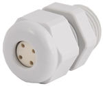 Nylon Cable Gland with 4 Hole Insert