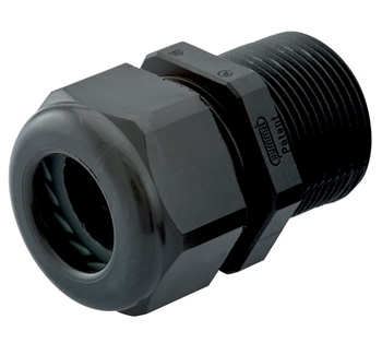Black Elongated Cable Gland CD09CR-BK