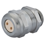 Sealcon CD09N4-BR Cable Gland with 2 Hole Insert