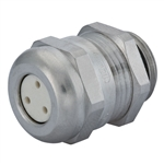 CD13A1-BR Cable Gland with 3 Hole Insert