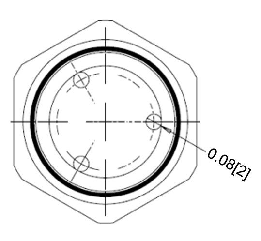 Sealcon Cd13n1 Bk Nylon 1 2 Npt 3 Hole Insert Cable Gland