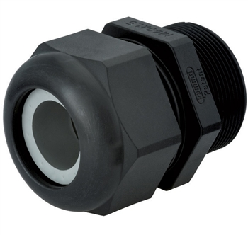 Sealcon CD16AR-BK Black Plastic Cord Grip