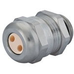 CD17M1-BR Cable Gland with 2 Hole Insert