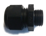 Sealcon CD17MA-BK Black Plastic M16 Cable Gland