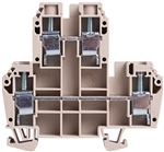 Deca CDK10 Screw Clamp Double Level DIN Rail Terminal Block
