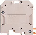 Deca CDU50 Screw Clamp DIN Rail Terminal Block