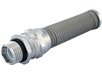 Elongated Thread M16 CF17DA-BR Cable Gland