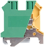 Deca CPE10N Screw Clamp DIN Rail Ground Terminal Block