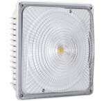 Spring Lighting Group 45W LED Canopy Light, 5000K, 120-277V, White