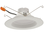 "Euri Lighting 12W 5-6"" LED Down Light, 3000K"