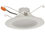 "Euri Lighting 18W 5-6"" LED Down Light, 3000K"