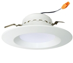 "Euri Lighting 13W 4"" LED Down Light, 4000K"