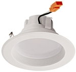 "Euri Lighting 13W 4"" LED Down Light, 4000K, 910Lm"