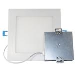 Euri Lighting 9W Slim Square LED Down Light, 5000K