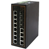 Mencom E45PNMS-12-8POE-4M-4SFP 12 Port Managed Gigabit PoE Ethernet Switch