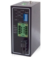 Mencom Serial Server, 2 Terminal Block, Singlemode Fiber Port
