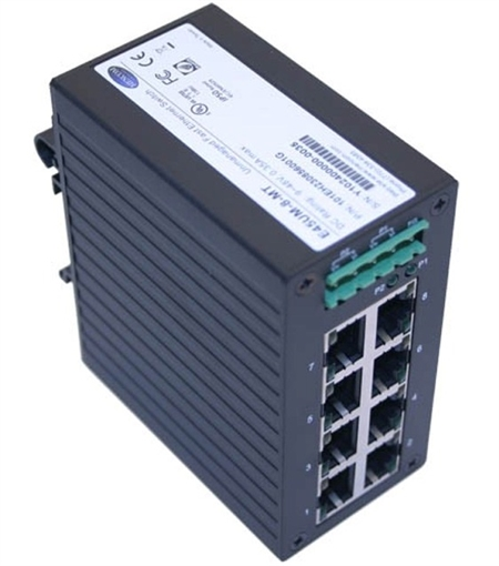 Mencom E45UM-8-MT 8 Port Fast Ethernet Switch