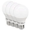 Euri Lighting 9W A19 LED Light, 2700K, 4 Pack, Dimmable
