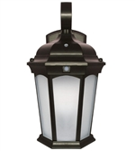 Euri Lighting 12.5W LED Wall Lantern, 3000K