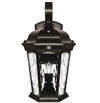 Euri Lighting 12.5W LED Wall Lantern, 3000K, Water Glass Lens