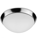 "Euri Lighting 25W 15"" Round LED Ceiling Light, 3000K"