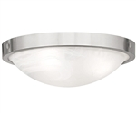 Euri Lighting 19W Decorative Round LED Ceiling Light, 3000K