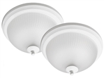 "Euri Lighting 11"" 11W Round LED Ceiling Light, 3000K"